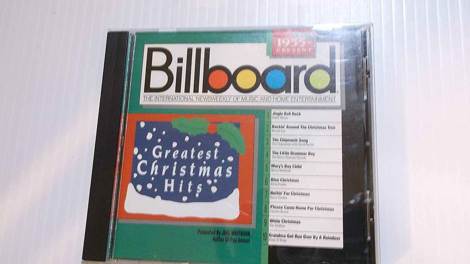 Billboard Greatest Christmas Hits: 1955-Present (1989) Audio CD ...