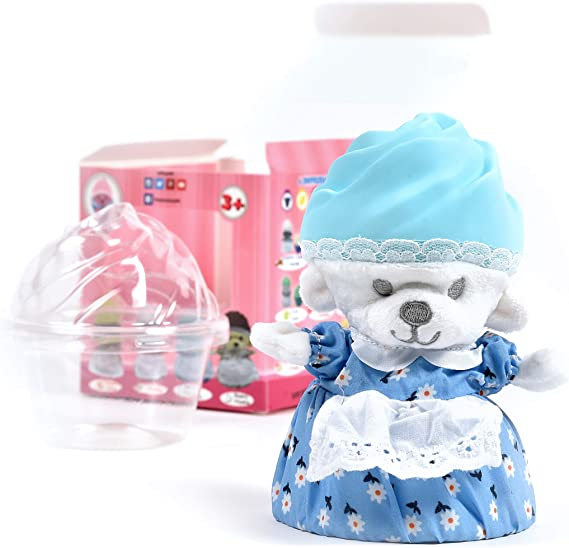 Cupcake Bears Transforming Dolls Mini 4-Pack Color /& Style May Vary