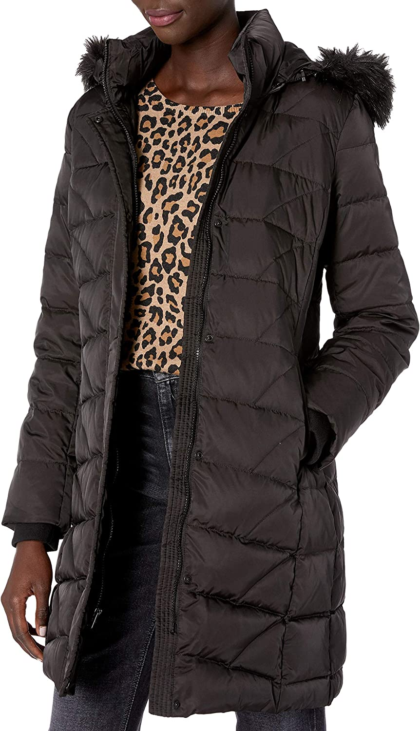 Marc New York by Andrew Marc Mens Maxfield Hooded Down Jacket