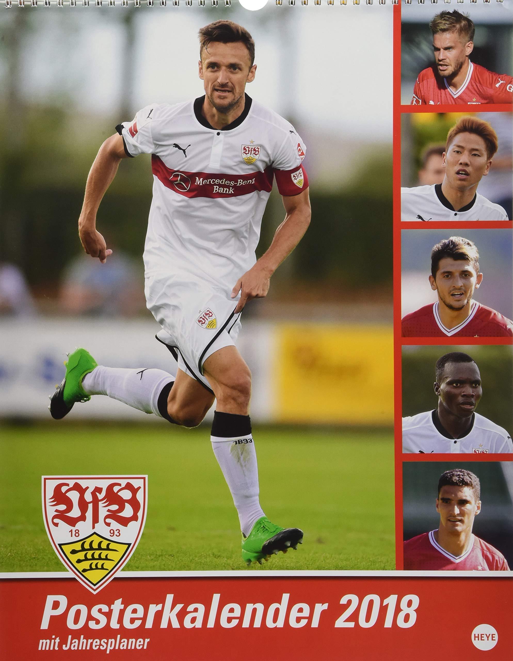 VfB Stuttgart Posterkalender - Kalender 2018