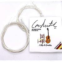 Bigdom, KIT de 2 JUEGOS DE CUERDAS para Guitarra Clásica Española, 12 Cuerdas guitarra. 2 Paquetes de Cuerdas de Nylon…