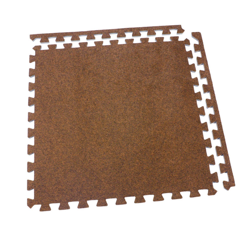 IncStores Eco-Soft Carpet Foam Tiles Black - 20 Tiles