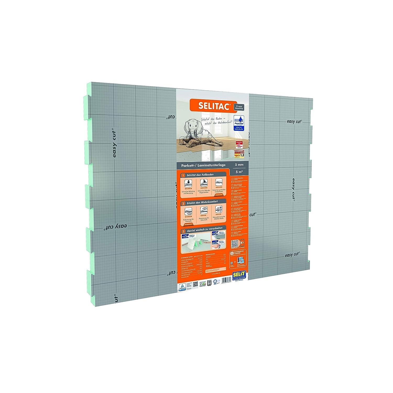 Selitac Parkett und Laminatunterlage Aqua-Stop 5 mm