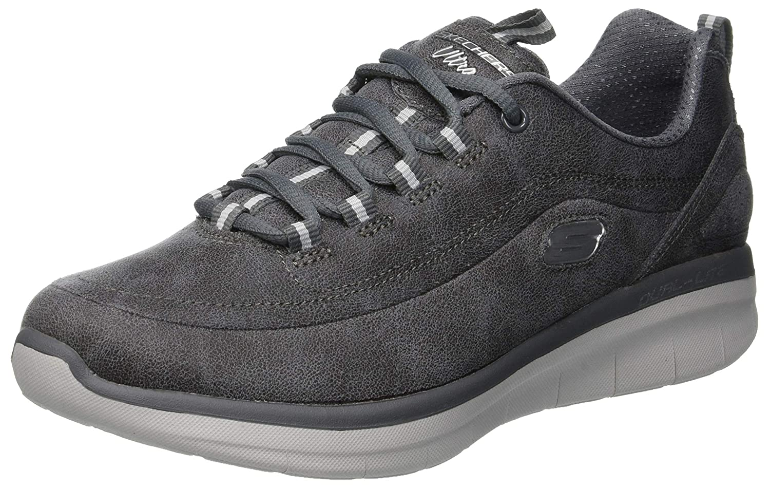 Skechers Synergy Synergy 2.0, Baskets Femme Femme Gris (Charcoal Skechers Charcoal) 85da01c - reprogrammed.space