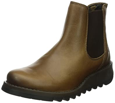 f8ae96cf404c Fly London Damen Salv Warm Rug Chelsea Boots