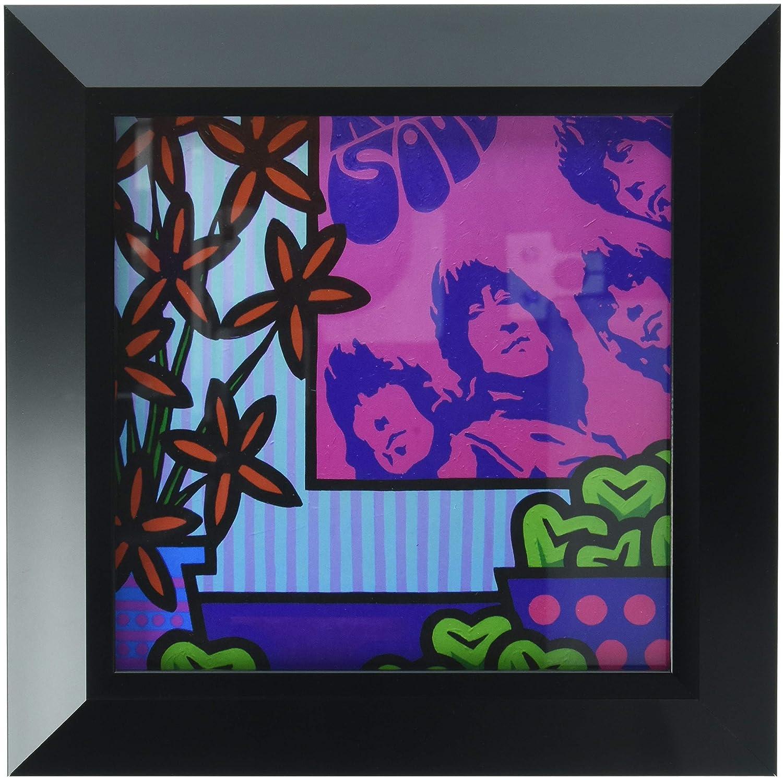 Frame USA Stil Llife with The Beatles-JOHNOL125602 by John Nolan Print 6.75 x 6.75 Budget Saver