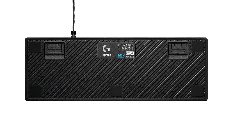 Logitech G810 - Teclado mecánico RGB para Gaming Orion Spark (distribución QWERTY inglés RU) Color Negro: Amazon.es: Informática