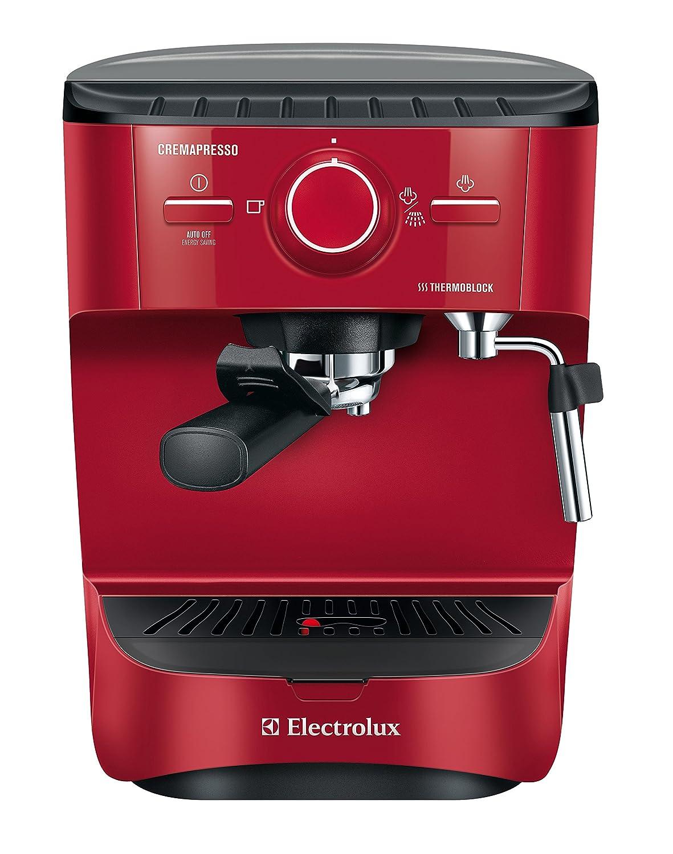 Electrolux EEA255 Cremapresso Macchina da Caffè Espresso a cialde, Rosso 910013060