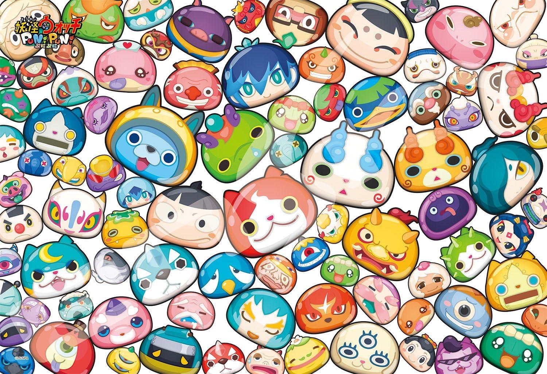 Amazon 108ピース ジグソーパズル 妖怪ウォッチ ぷにぷに ラージ