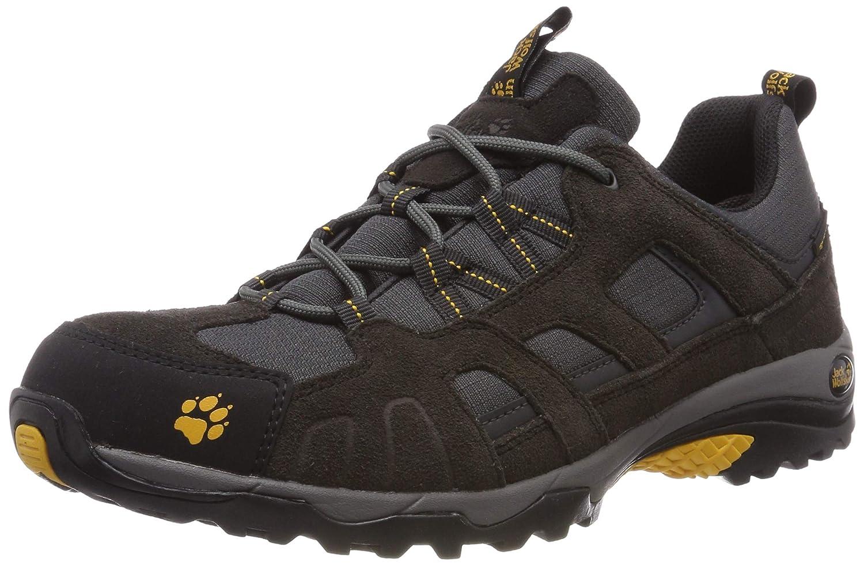 Jack Wolfskin Vojo Hike Texapore Men, Wanderschuhe für Herren aus wasserfestem und atmungsaktivem Material, Outdoor Schuhe mit robuster und gut dämpfender Sohle