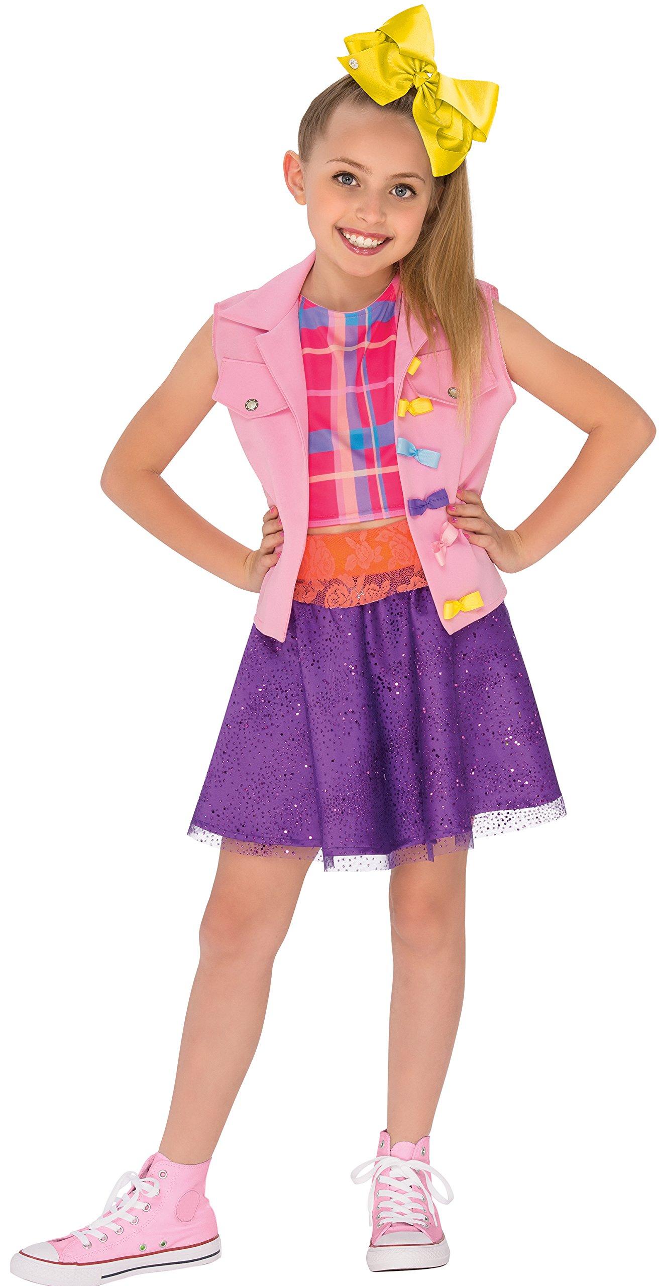Rubies 640736_M Jojo Siwa Boomerang Music Video Outfit Costume, Multicolor, Medium