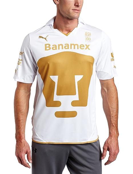 Los Pumas De La Away Camiseta de fútbol, Hombre, White-Team ...