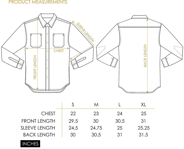 Premium Chambray Button-Down Shirt Ocean Blue
