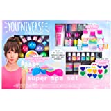 You*Niverse Super Spa Set by Horizon Group Usa, Ultimate DIY STEM Science Kit, Make Your Own Lip balms, Shimmer Lotions & Rainbow Soaps, Multicolored