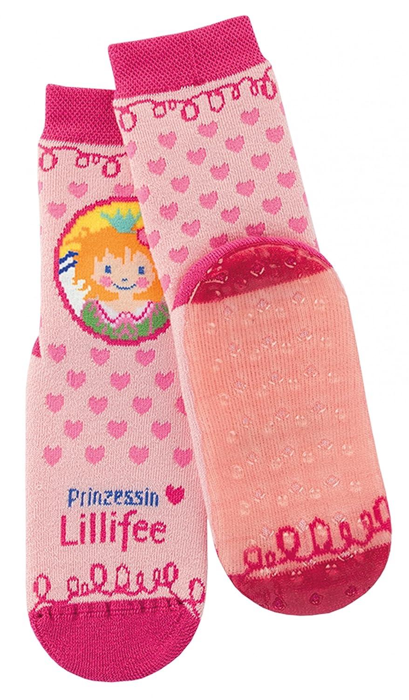 Prinzessin Lillifee Stoppersocken Kinder Rutschsocken pink /& rosa ABS Socken in verschiedenen Gr/ö/ßen 17-34 M/ädchenstr/ümpfe mit Motiv und Anti-Rutsch-Sohle