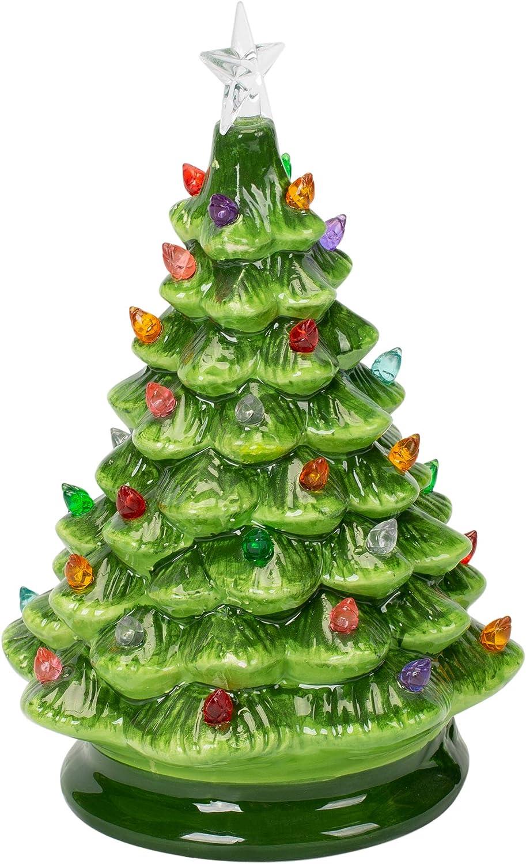 MIDWEST-CBK LED Lighted Christmas Tree Standard