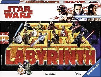 Ravensburger Star Wars Labyrinth The Last Jedi- Juego de Laberinto ...