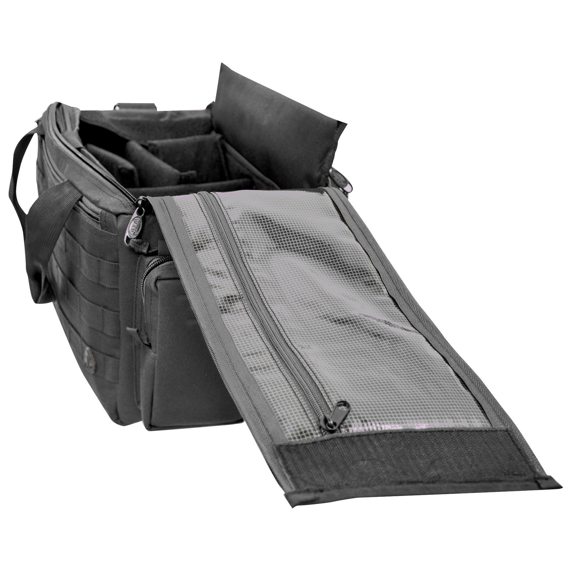 UTG All in One Range/Utility Go Bag, Black, 21'' x 10'' x 9'' by UTG (Image #4)