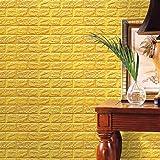 FAMILIZO PE de espuma de 3D Wallpaper DIY pared pegatinas Decoración de pared en relieve piedra