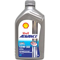 SHELL 1525001 Advance Ultra 4 SAE 15W-50 Aceites