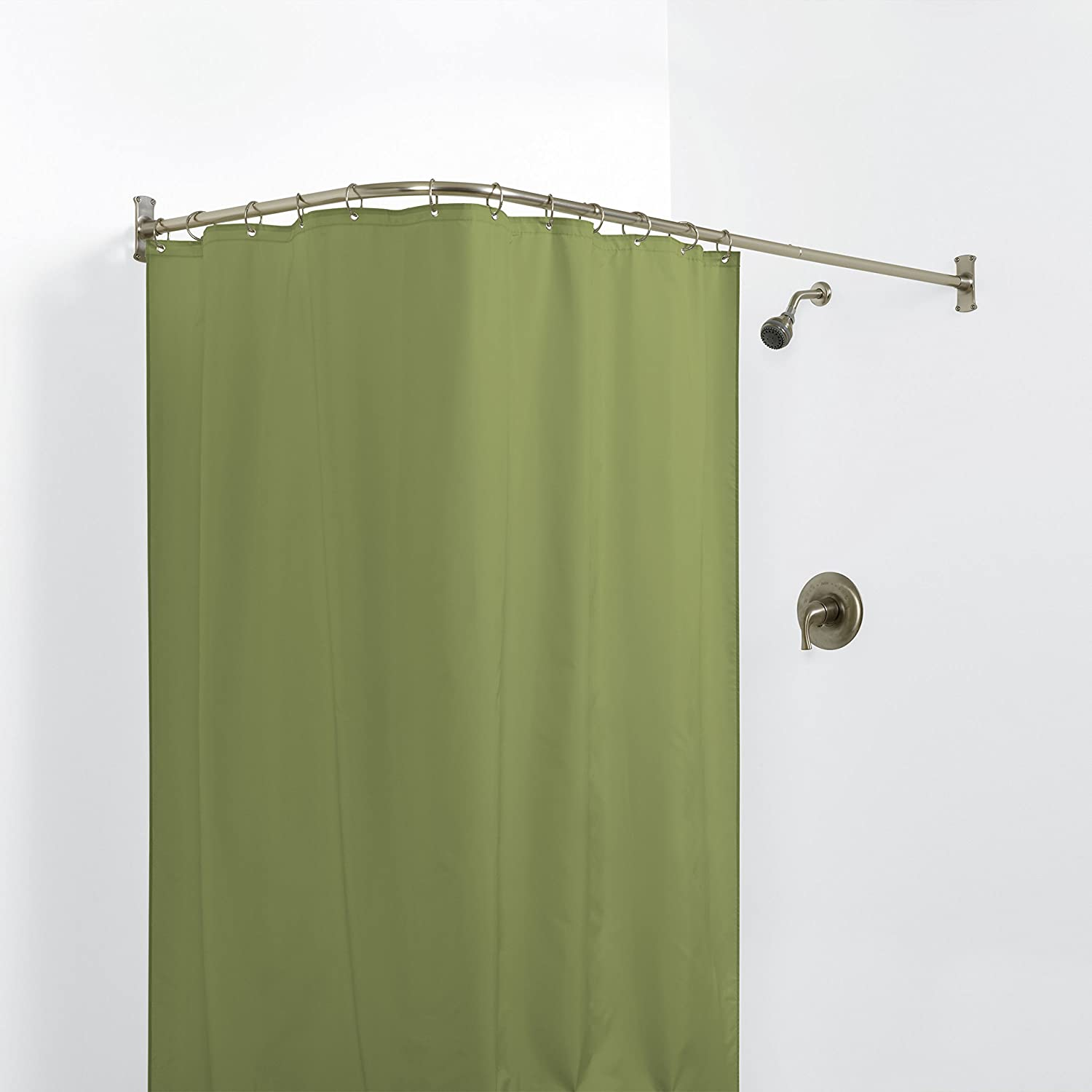 pinterest exclusive curtain round s corner bathrooms ideas ikea rod best of shower clever amazon rods