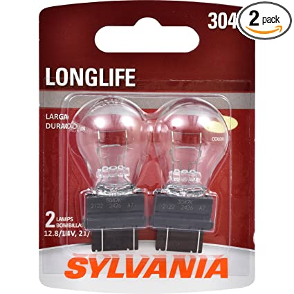 Amazon.com: SYLVANIA 3047 Long Life Miniature Bulb, (Contains 2 Bulbs): Automotive