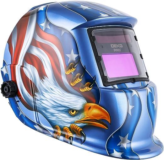 Campana de oscurecimiento automática del casco de la