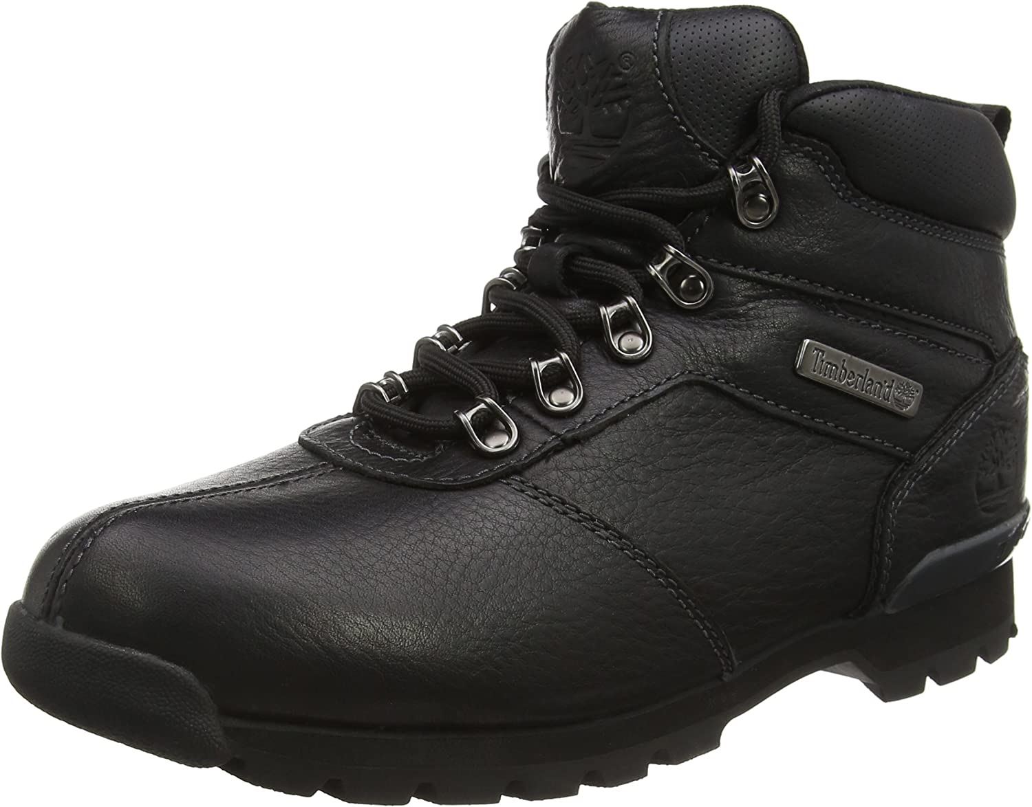 Timberland Mens Splitrock 2 Walking Outdoor Hiker Black Ankle Boots – Black –