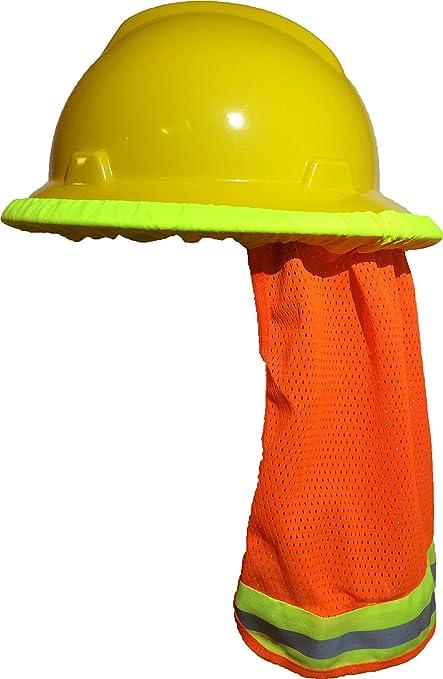 Safety Helmet High Visibility Reflective Baseball Cap Yellow Safety Hat Work Safety Helmet