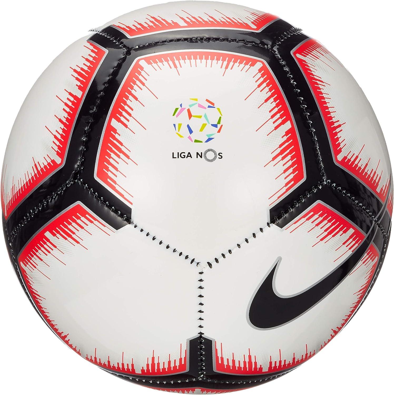 Nike Liga Nos Skills – Balón de fútbol, White/Bright Crimson/Black ...