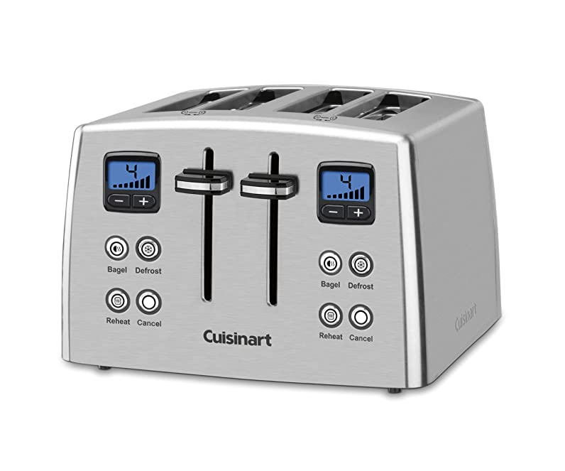 Cuisinart CPT-435 Countdown 4-Slice Stainless Steel Toaster ...