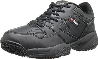Skidbuster 5055 Women's Leather Comfort Slip Resistant Athletic Shoe