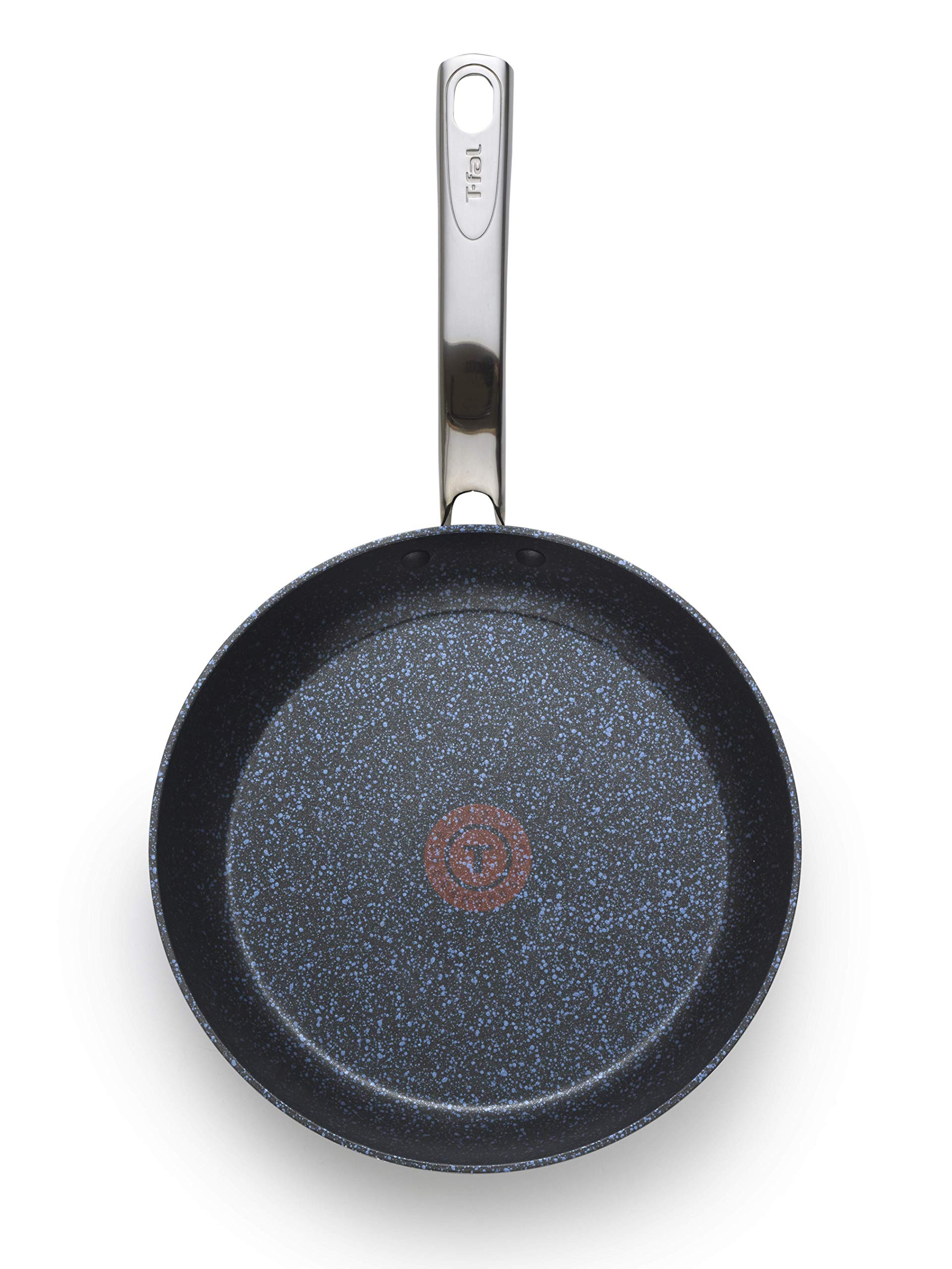 T-fal G10405 Heatmaster Nonstick Thermo-Spot Heat Indicator Fry Pan Cookware, 10-Inch, Black - As Seen on TV by T-fal (Image #3)