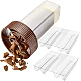 O'Creme - Chocolate Shaver - Rotary Hand Held Grater and Slicer Device to Make Professional Gourmet Quality Chocolate Shaving