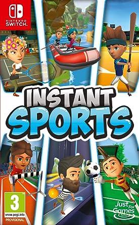 Instant Sports pour Nintendo Switch Amazon.fr Jeux vidéo