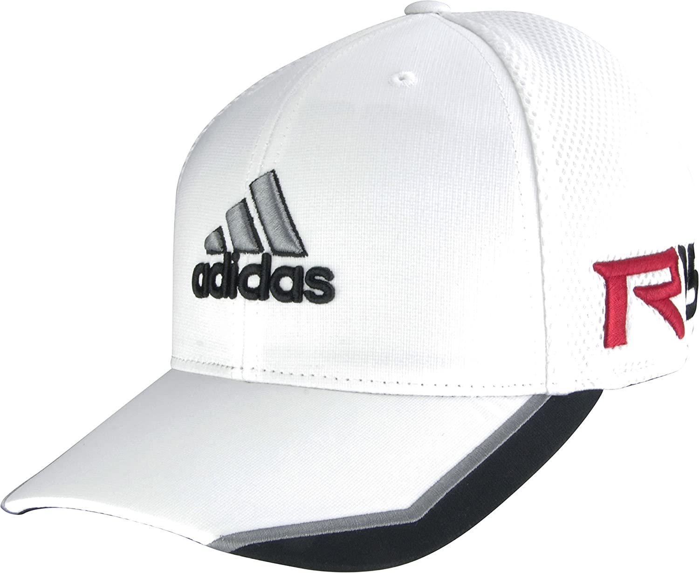 d8e1d5932f7 adidas Golf 2015 Tour Mesh Golf Cap Hat - TaylorMade - R15 - FlexFit  (White Black