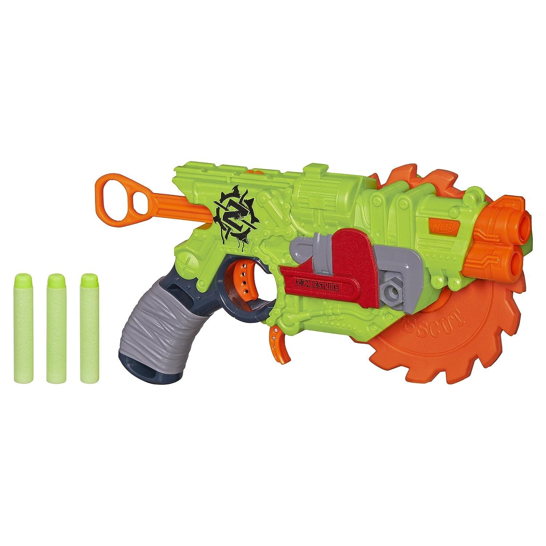 NERF Zombie Strike Crosscut Blaster Blasters & Foam Play Amazon Canada