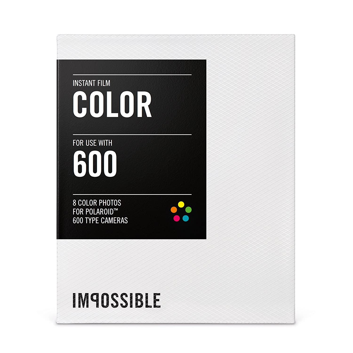 ImpossibleプロジェクトカラーFIM for Polaroid 600-typeカメラ、30-pack   B00MAQTKBW