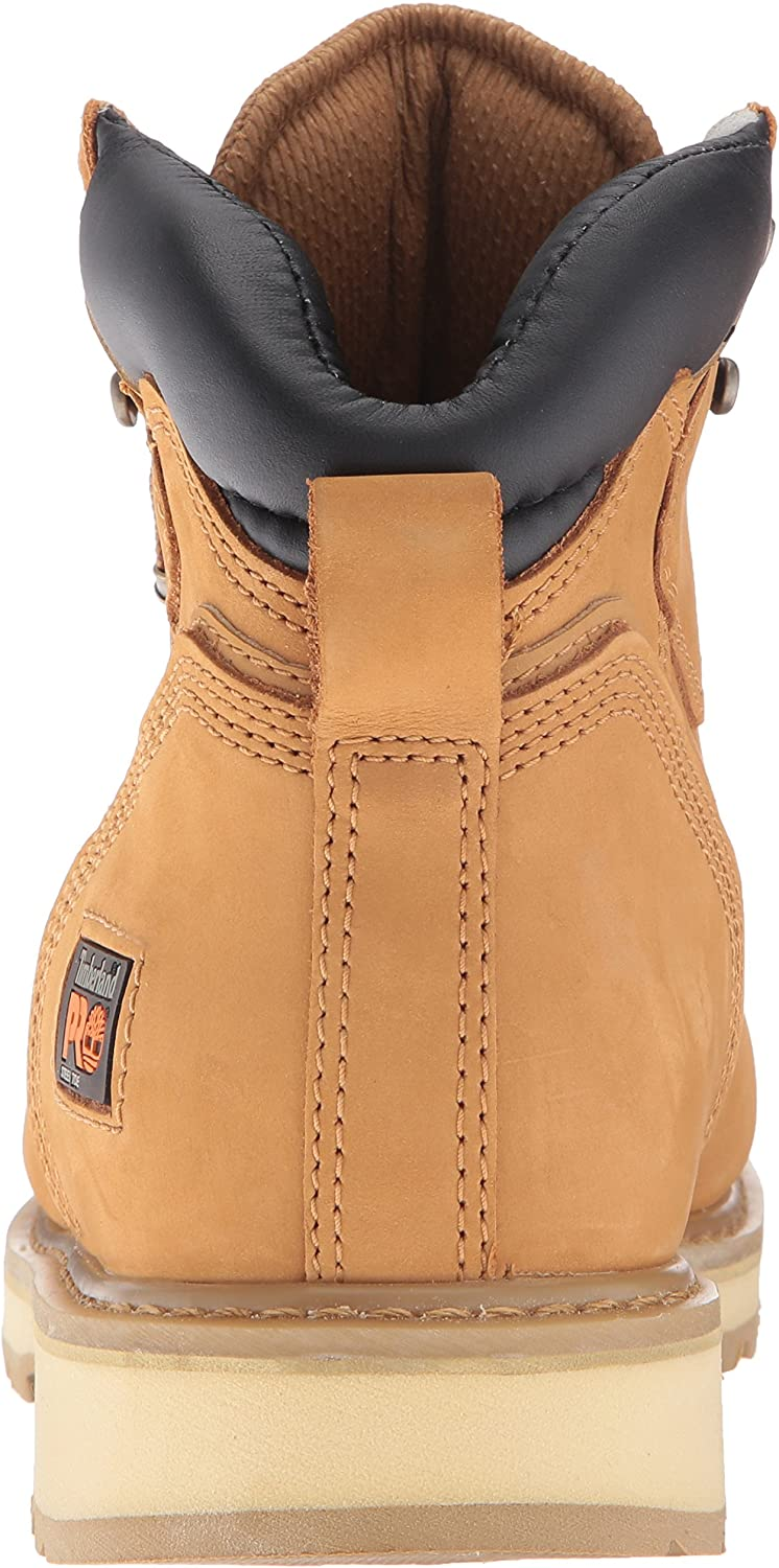 """Timberland PRO Men's 6"""" Pit Boss Steel Toe Industrial Work Boot: Shoes"""