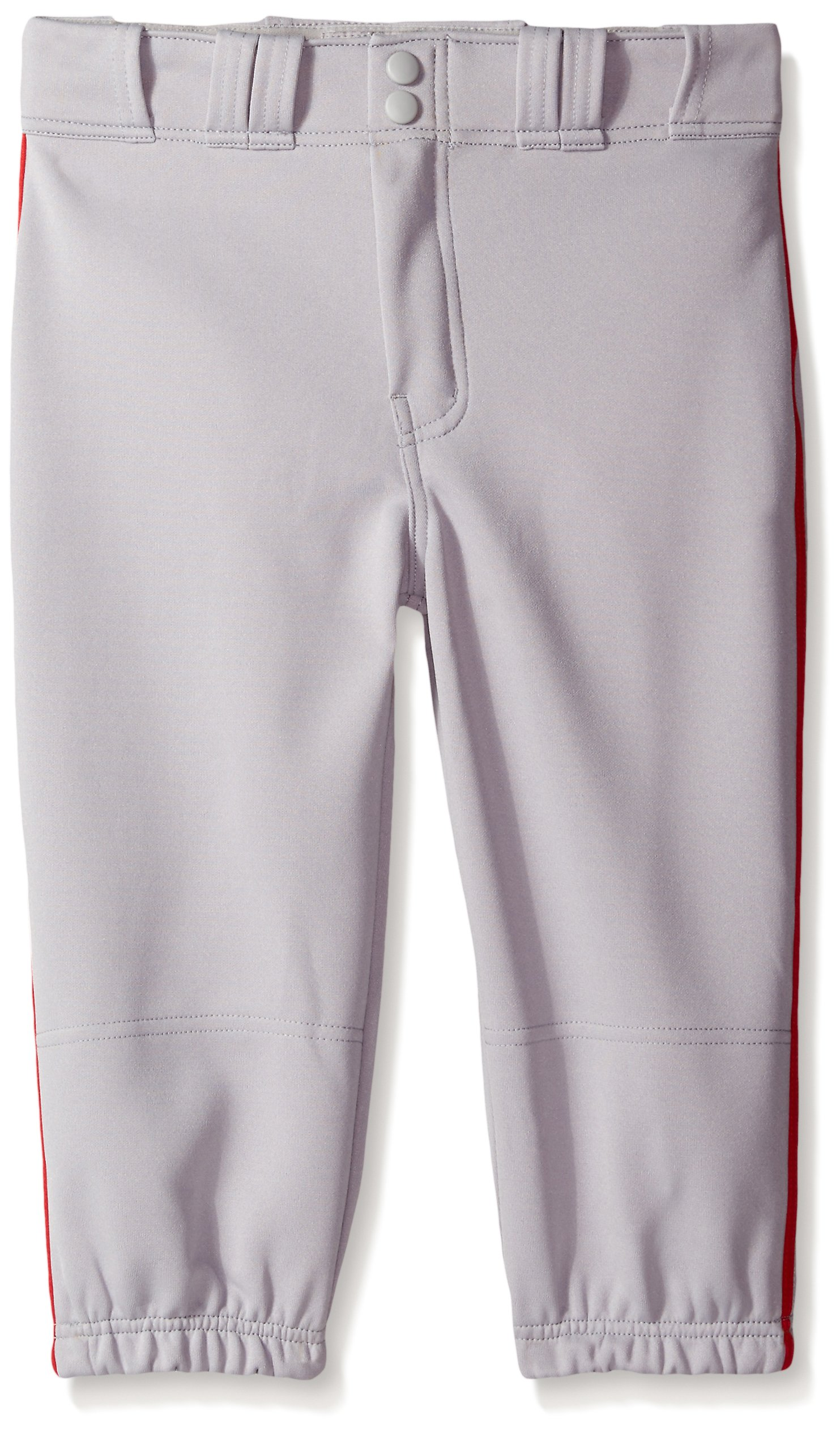 Easton Boys PRO Plus Piped Knicker, Grey/Red, Small