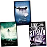 Guillermo del Toro Chuck Hogan Strain Trilogy 3 Books Collection Pack Set RRP: £22.97 (The Fall, The Night Eternal, The Strain)
