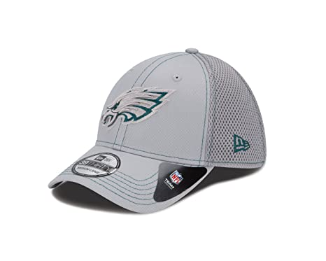 65e919e24 Philadelphia Eagles New Era NFL 39THIRTY Neo Fitted Hat Cappello - Gray