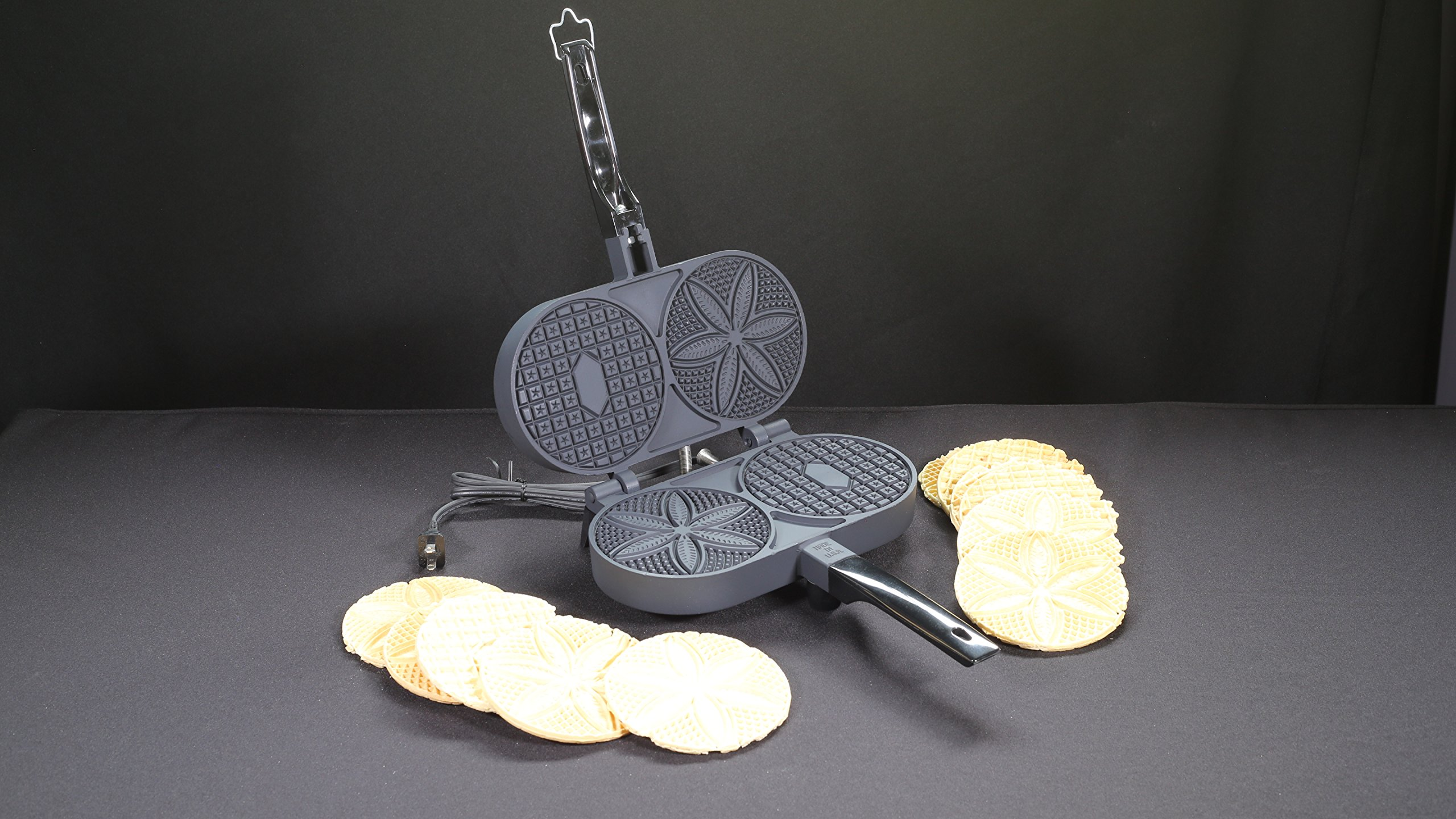 Palmer 1000T Electric Pizzelle Iron-Non-Stick by Palmer