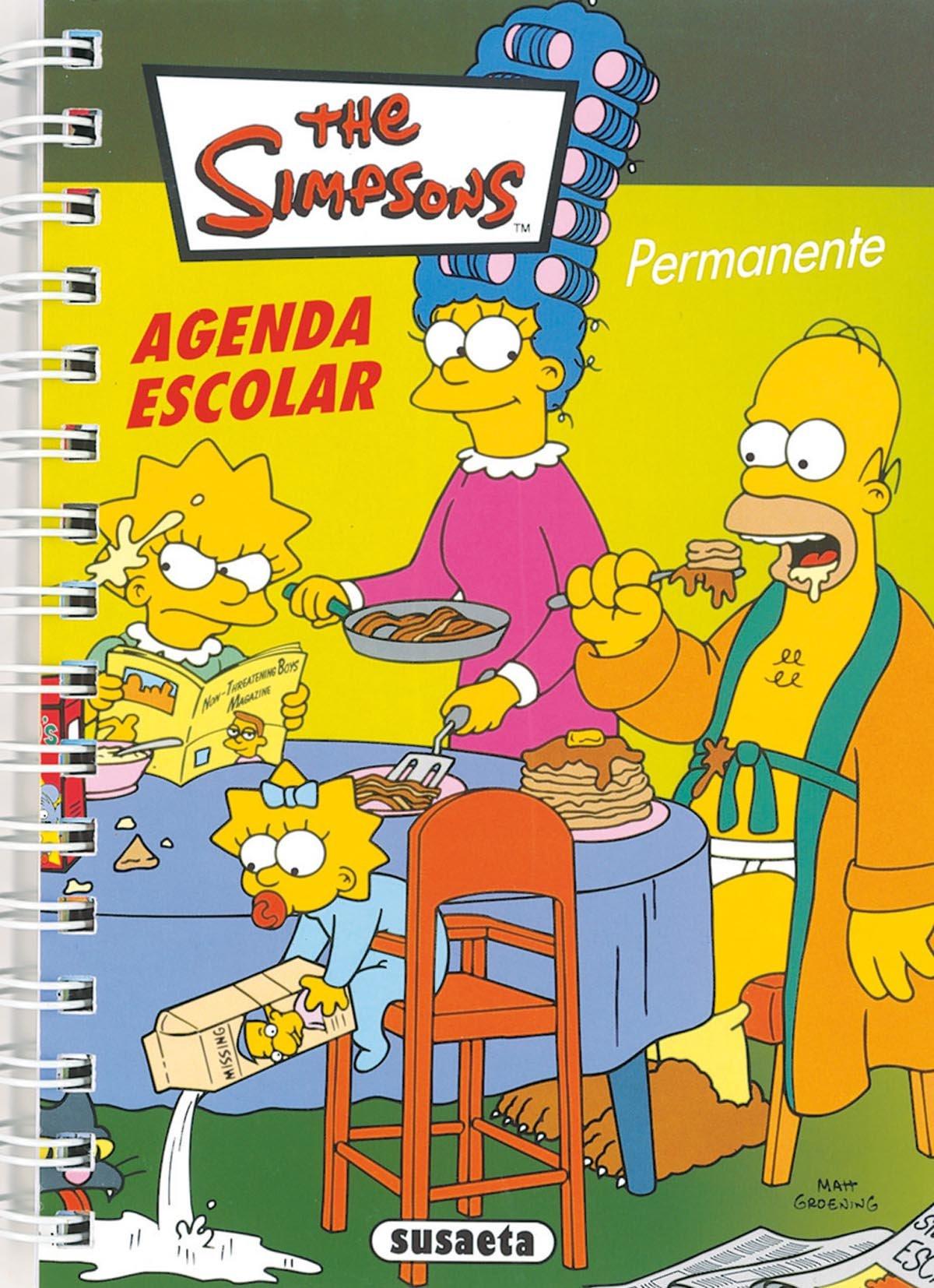 Agenda permanente Simpsons n.4: 9788430599837: Amazon.com: Books