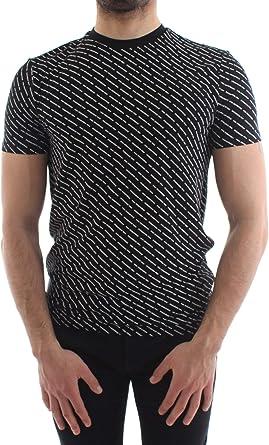 DSQUARED2 Multi Logo T Camisa negra Negro 52: Amazon.es: Ropa y accesorios