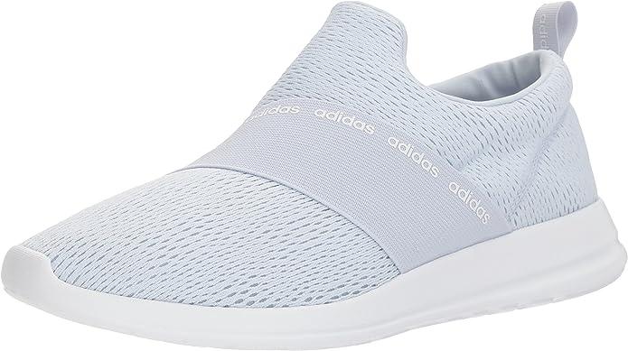 adidas Women's CF Refine Adapt, Aero Blue/Aero Blue/White, 5 M US