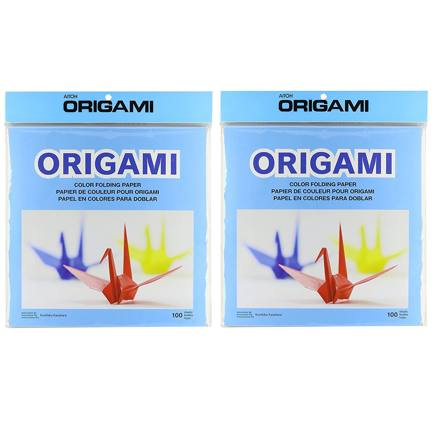 Aitoh OG-6 Origami Paper, 9.75-Inch by 9.75-Inch, 100-Pack Notions