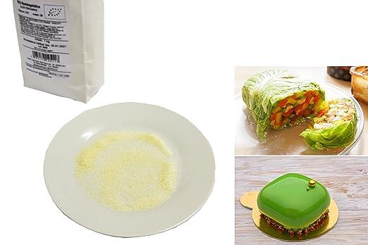 Polvo de Gelatina Orgánica Pura 1 kg SOBO | La Primera Gelatina en Polvo del Mundo - Gelatina de Cerdo Orgánica Pura en Polvo - Gelatina de Alimentos ...