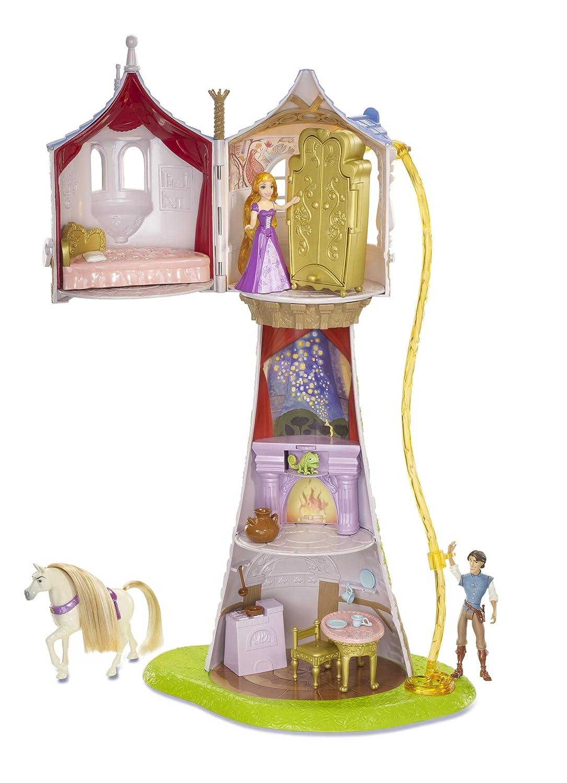 Amazon.com: Disney Tangled Featuring Rapunzel Magical Tower Playset ...