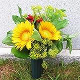 Evelots Cemetery Cone Vases-Sturdy Steel